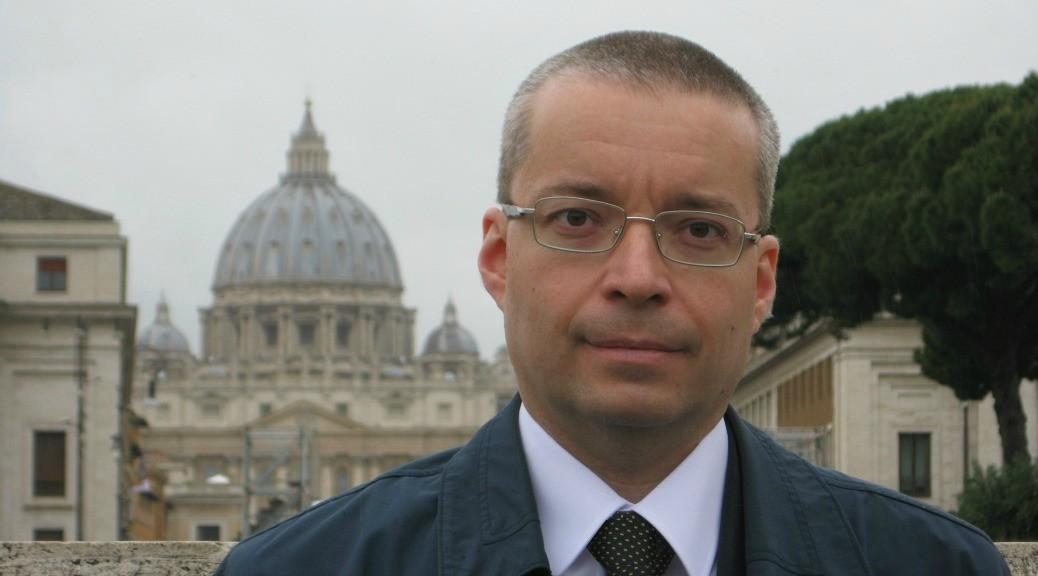 Alessandro Ginotta giornalita e scrittore, autore di Cento giorni con Gesù
