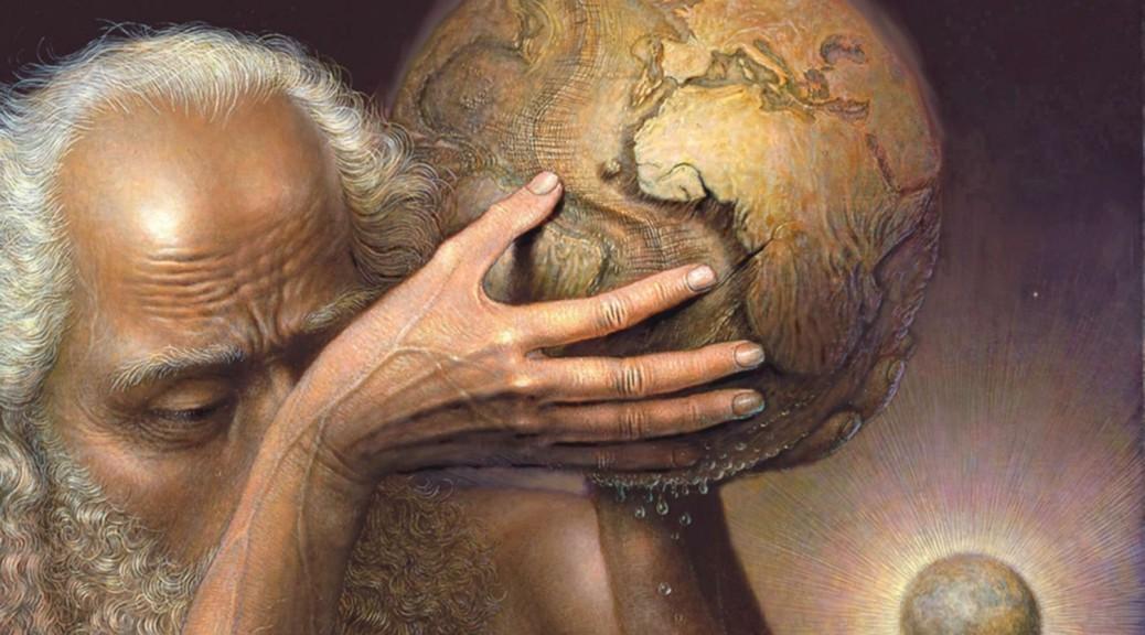 André Martins de Barros, Pleurs de terre, olio su tela, 2006, Collezione Privata