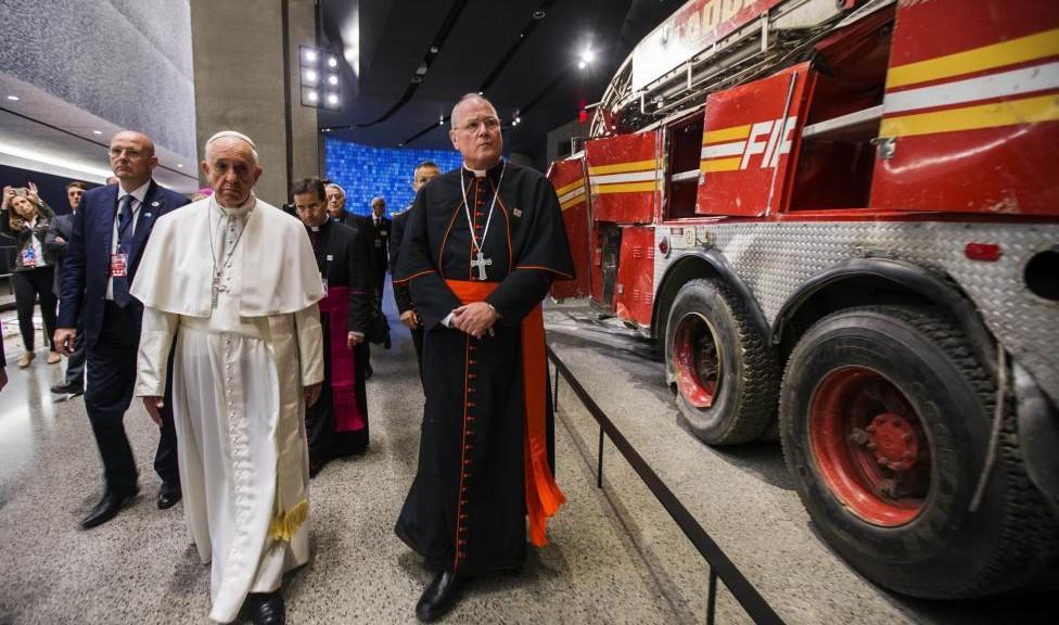 Papa Francesco a Ground Zero: No a odio e rancore. Pace, solo pace!