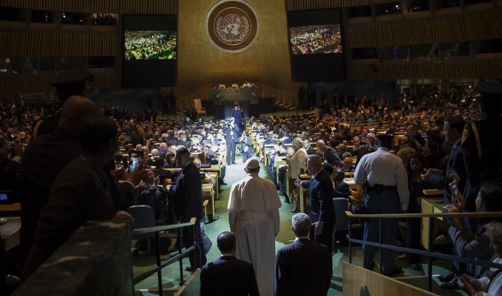 Papa Francesco all'Onu scuote i potenti del mondo