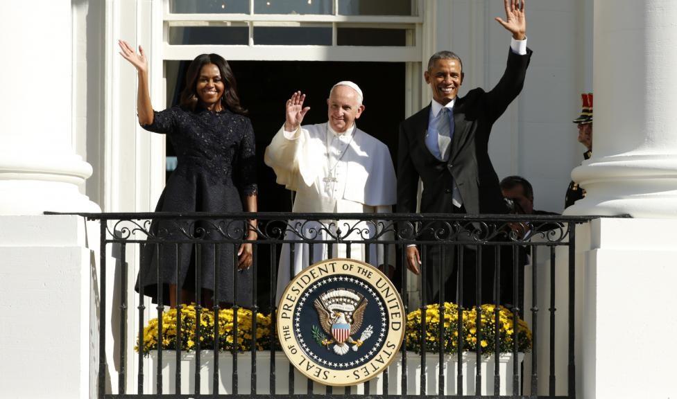 Papa Francesco alla Casa Bianca, figlio di una famiglia di migranti