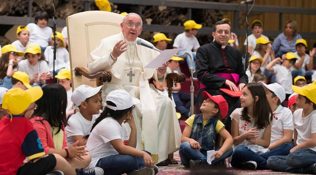 La richiesta di perdono di Papa Francesco e l'amore di Gesù per i bambini