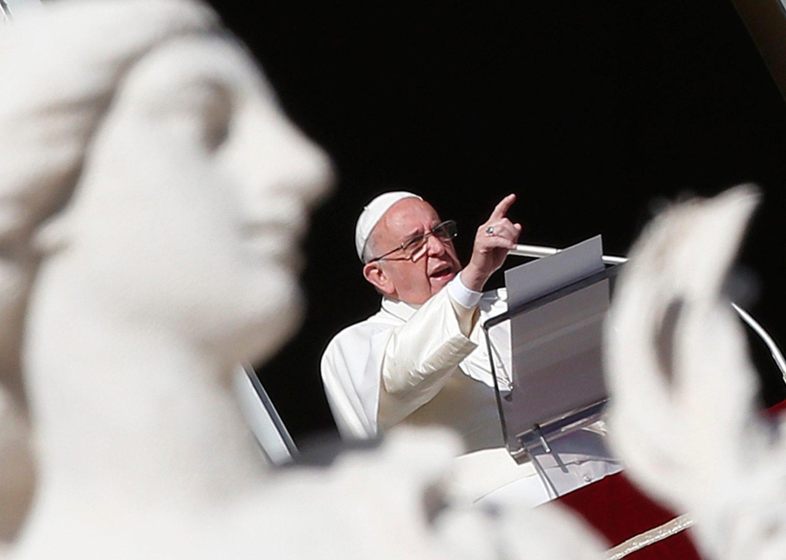 Papa Francesco: Usare Dio per giustificare la violenza è una bestemmia!