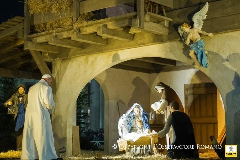 Per incontrare Gesù bisogna saper volgere lo sguardo al cielo