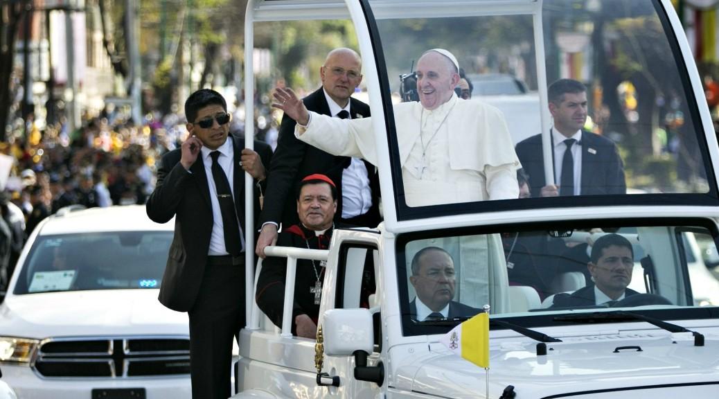 La seconda giornata di Papa Francesco in Messico minuto per minuto. Diretta WEB dalle ore 18.15
