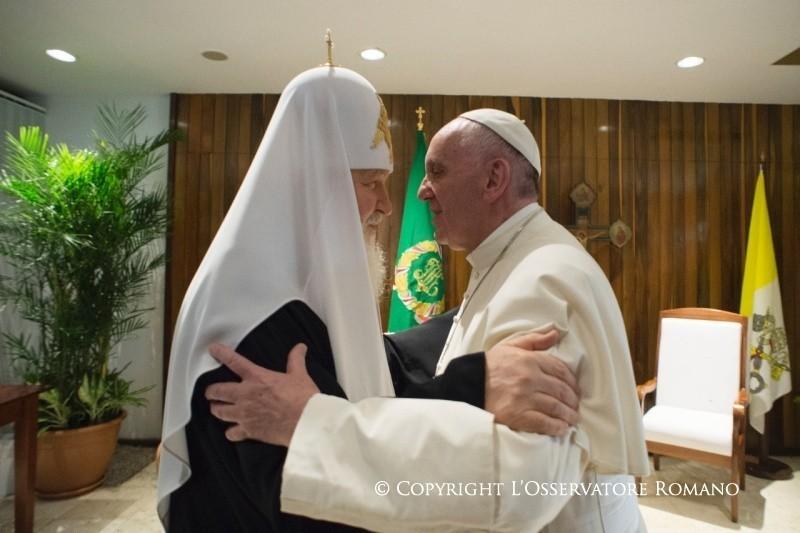 Il testo della Dichiarazione Congiunta firmata da Papa Francesco e il Patriarca Kirill