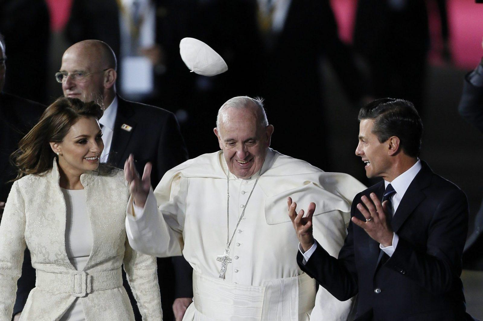 La prima giornata di Papa Francesco in Messico minuto per minuto. Diretta WEB dalle ore 17.00
