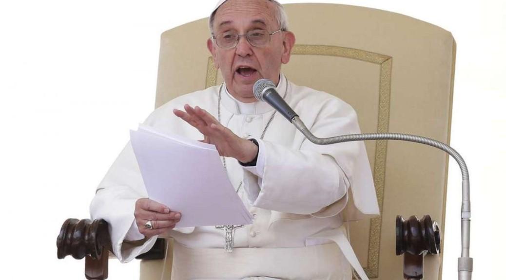 Papa Francesco: La Chiesa non ha bisogno di soldi sporchi!Papa Francesco: La Chiesa non ha bisogno di soldi sporchi!