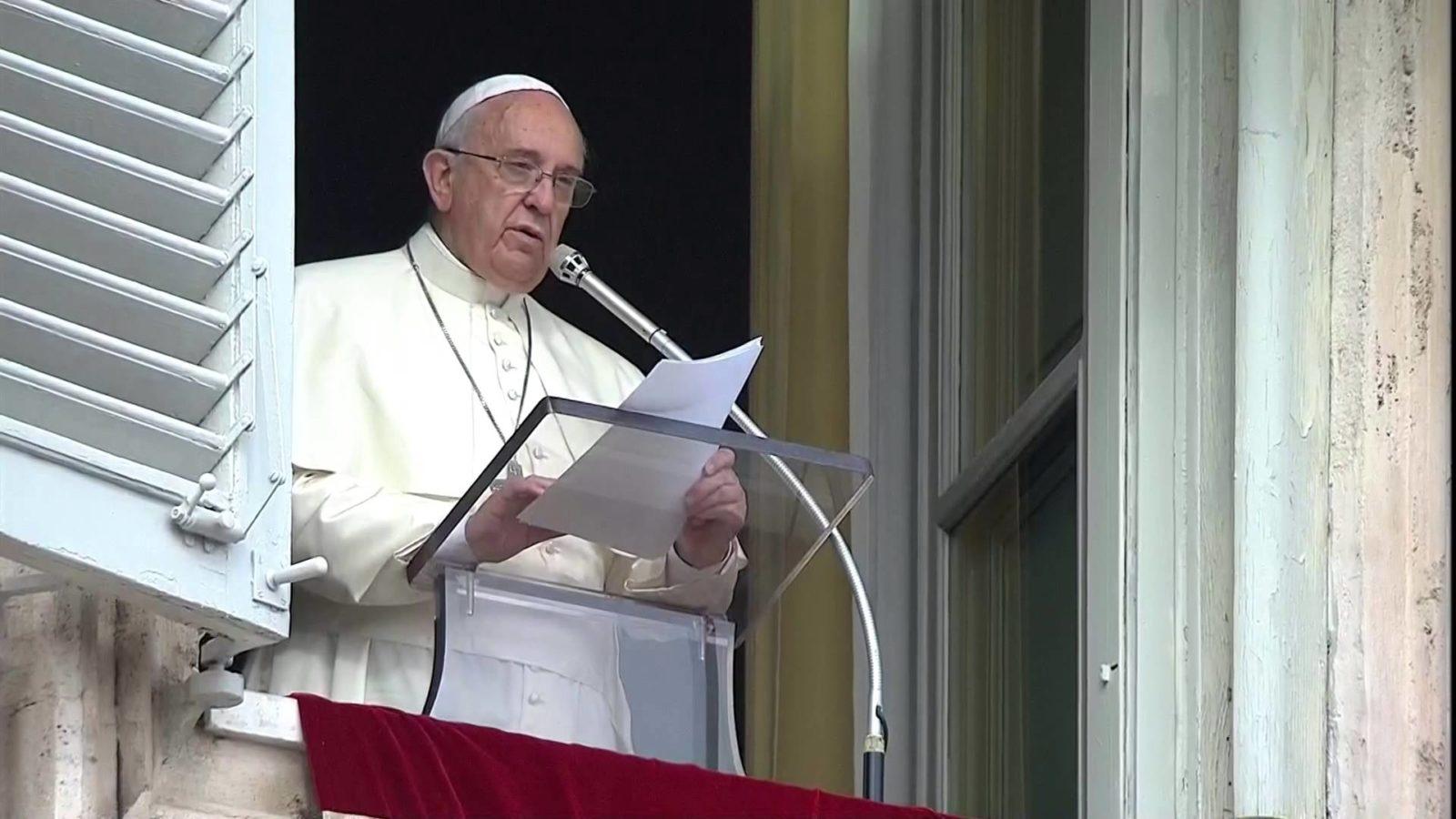 Papa Francesco, Angelus, suore, Yemen, corridoi umanitari, comunità di Sant'Egidio, valdesi, metodisti, padre buono