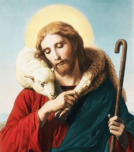 Io sono la porta delle pecore.