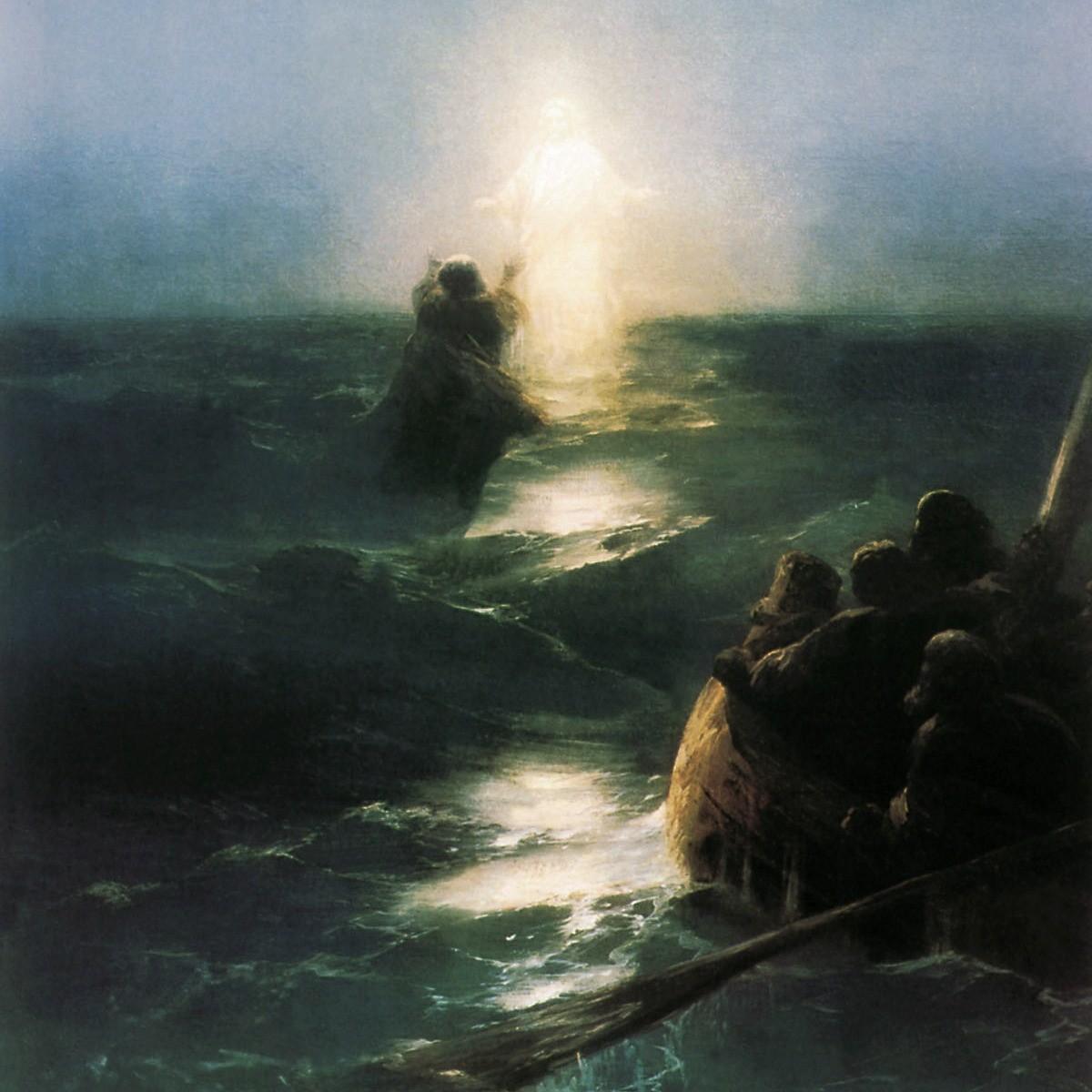 Videro Gesù che camminava sul mare (Gv 6,16-21)