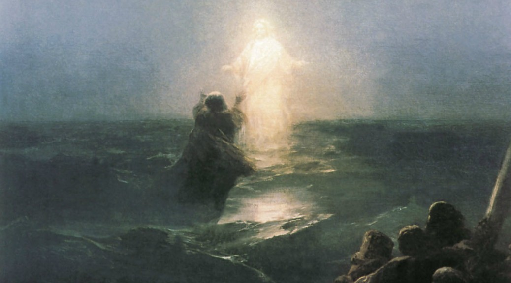 Videro Gesù che camminava sul mare