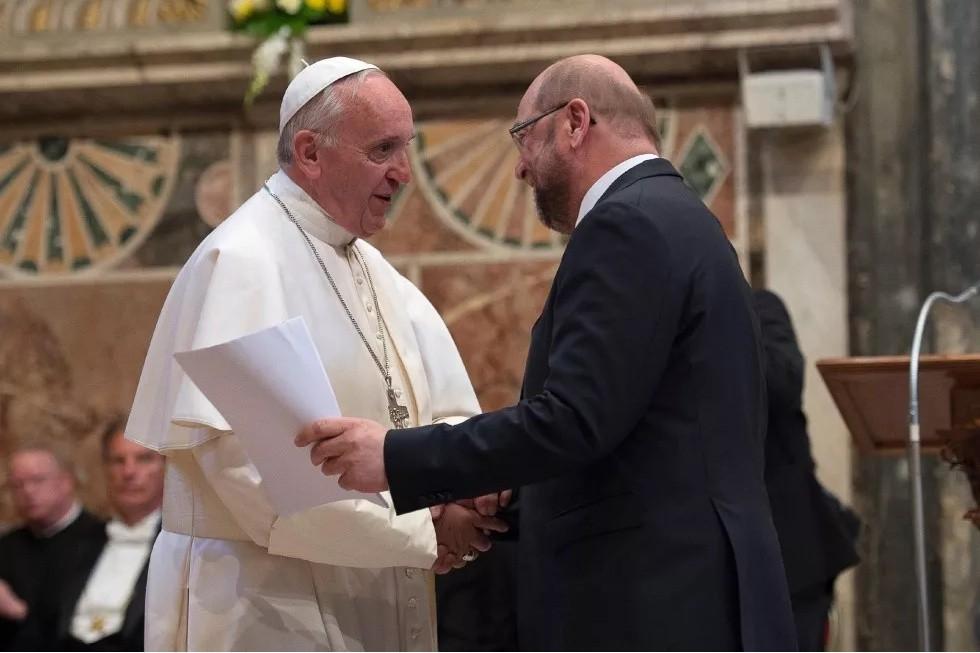 Papa Francesco: Sogno un'Europa che...
