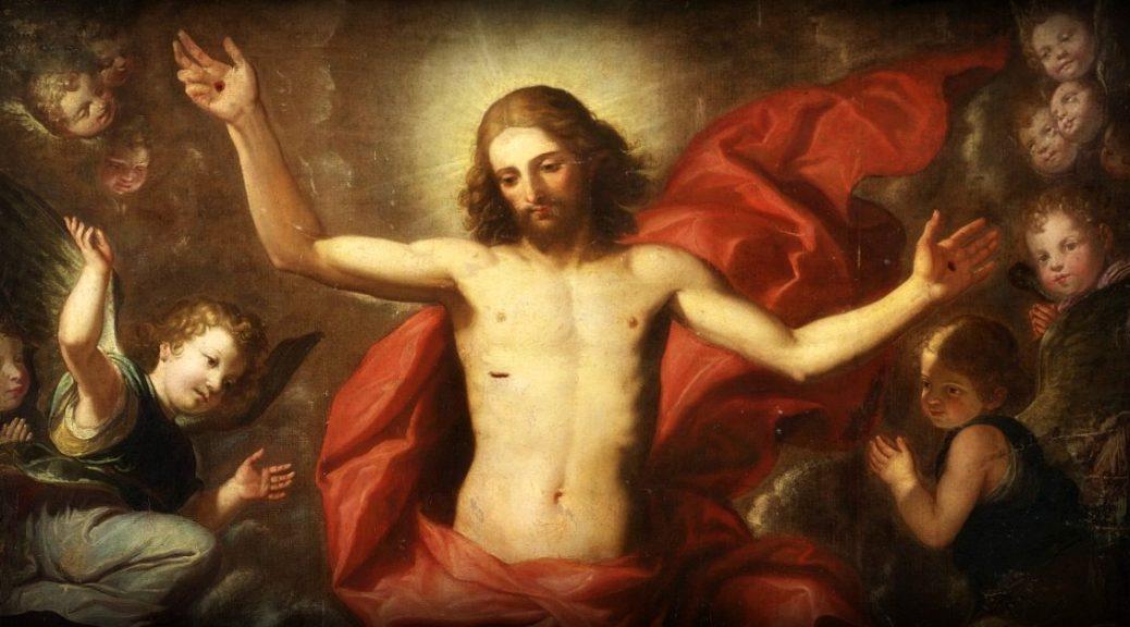Mentre li benediceva veniva portato verso il cielo