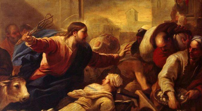 """Conosci la """"buona"""" rabbia di Gesù?"""