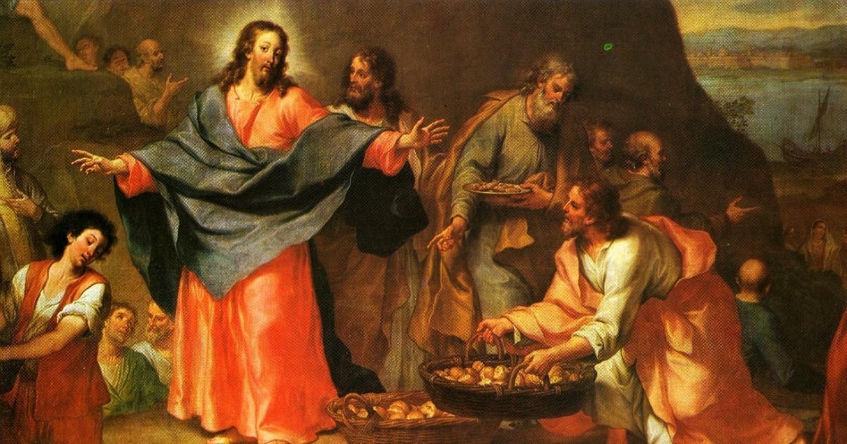 Vuoi saziarti anche tu, con la Parola di Gesù?