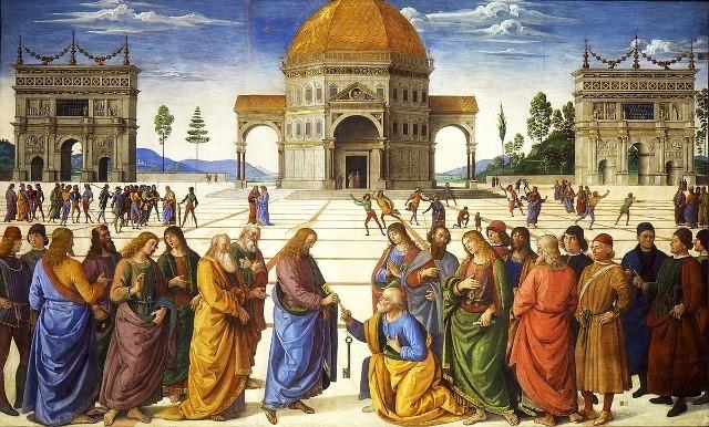 Eh, sì! Anche San Pietro, come tutti i Papi, ha cambiato nome...