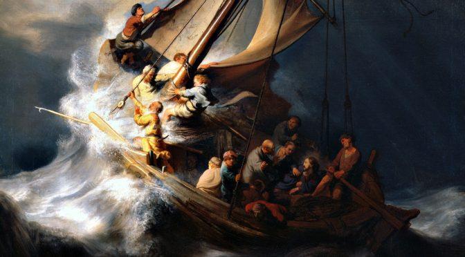 Perchè aver paura? Lascia che Gesù ti salvi, anche nella tempesta!