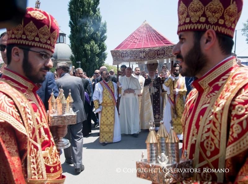 Papa Francesco e l'unità dei cristiani. Un segno per il mondo