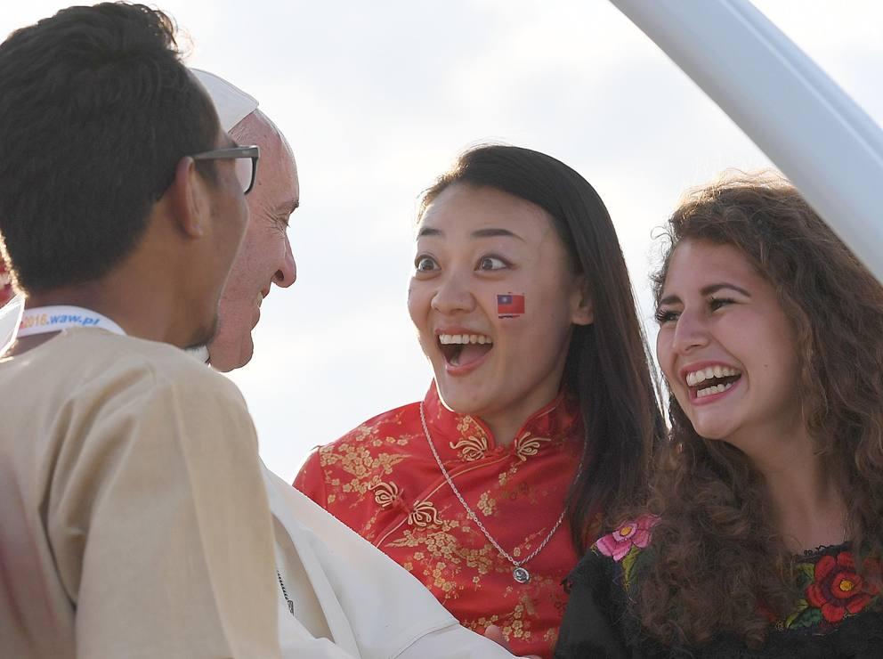 Il Papa alla GMG. Un discorso epico, che lascerà un'impronta nella storia.