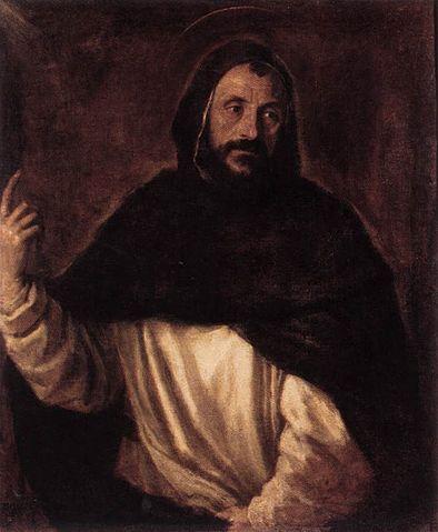 Tiziano, San Domenico di Guzmán, 1565 ca., Galleria Borghese, Roma