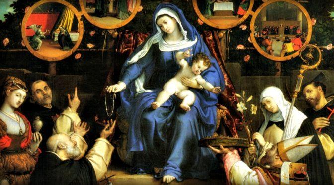 Forse non tutti sanno come è nata la preghiera del Santo Rosario (e... un aneddoto sui pirati...)