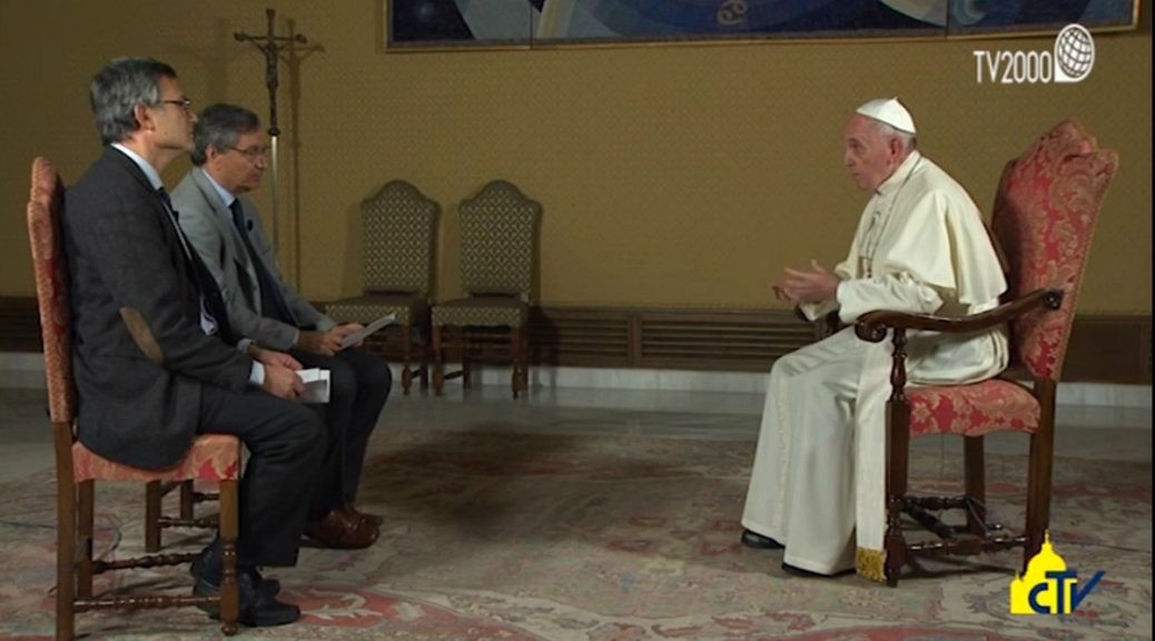 L'intervista integrale rilasciata da Papa Francesco a Tv2000 e InBlu Radio