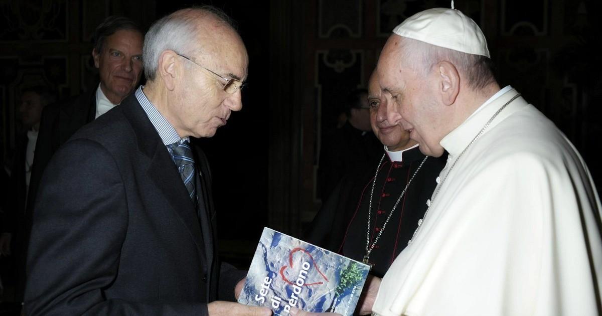 Il cuore ha sete di perdono. Un dono che ha commosso Papa Francesco