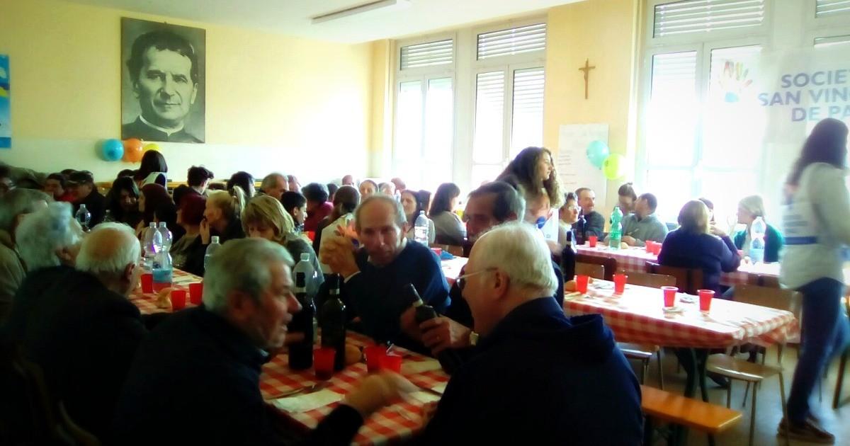 Società di San Vincenzo De Paoli: ad Asti il pranzo dell'amicizia
