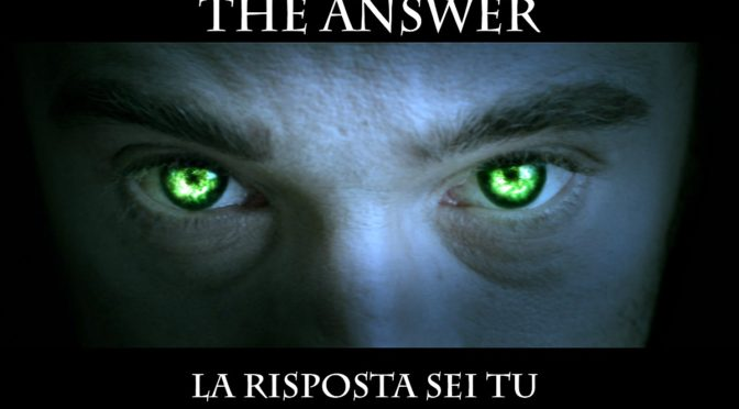 """Cineforum all'Università Europea di Roma: """"The answer - la risposta sei tu"""""""
