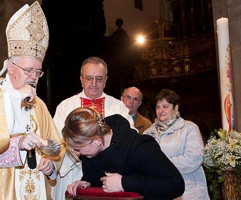Anche per Cristo è stato duro accettare la Croce