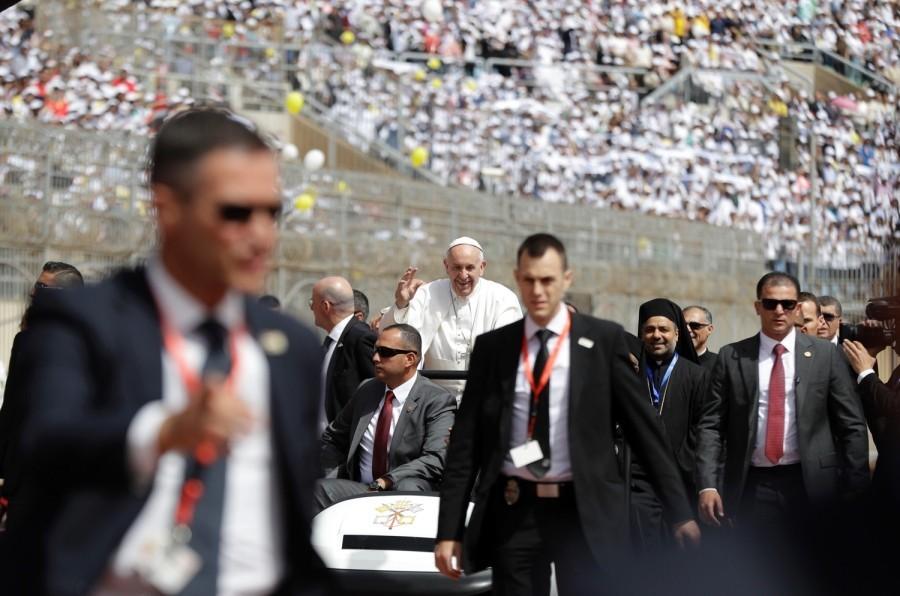 Dal Cairo l'inno di speranza di Papa Francesco