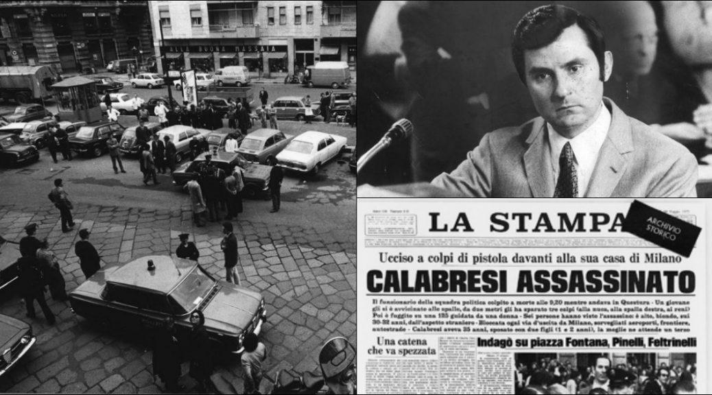 Un concerto alla memoria del commissario Luigi Calabresi nel 45° anniversario della morte