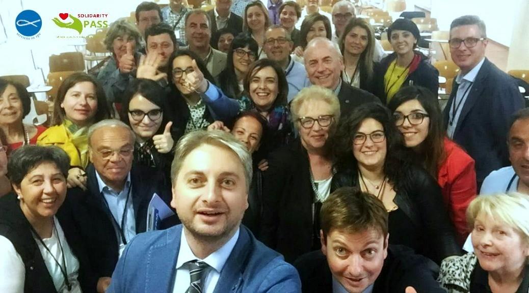 #SolidarityPASS: Entusiasmo e partecipazione all'incontro di Pergusa-Enna