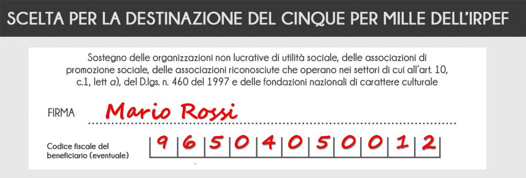 destina il 5x1000 alla Società di San Vincenzo De Paoli di Torino