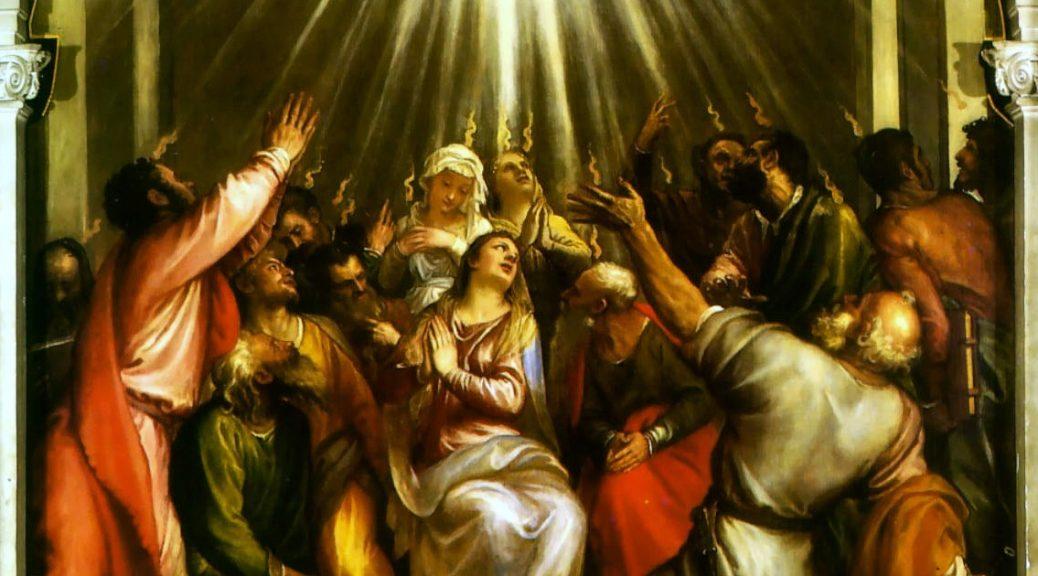 Pentecoste: l'uomo di carne può (se lo vuole) rinascere nello Spirito