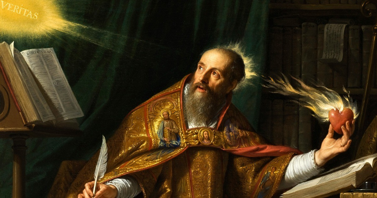 """""""Tu eri dentro di me, e io fuori. E là ti cercavo"""". La Conversione di Sant'Agostino"""