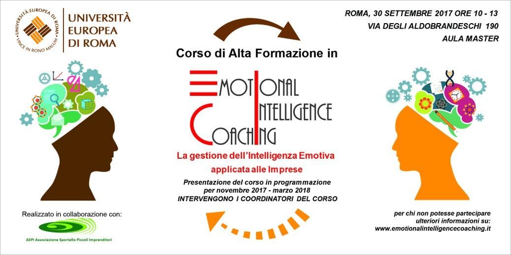Un nuovo corso sul Coaching all'Università Europea di Roma