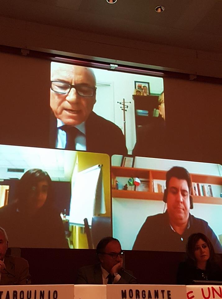 Carità e Media: L'intervento del Presidente Generale Renato Lima de Oliveira. Frasi che fanno riflettere