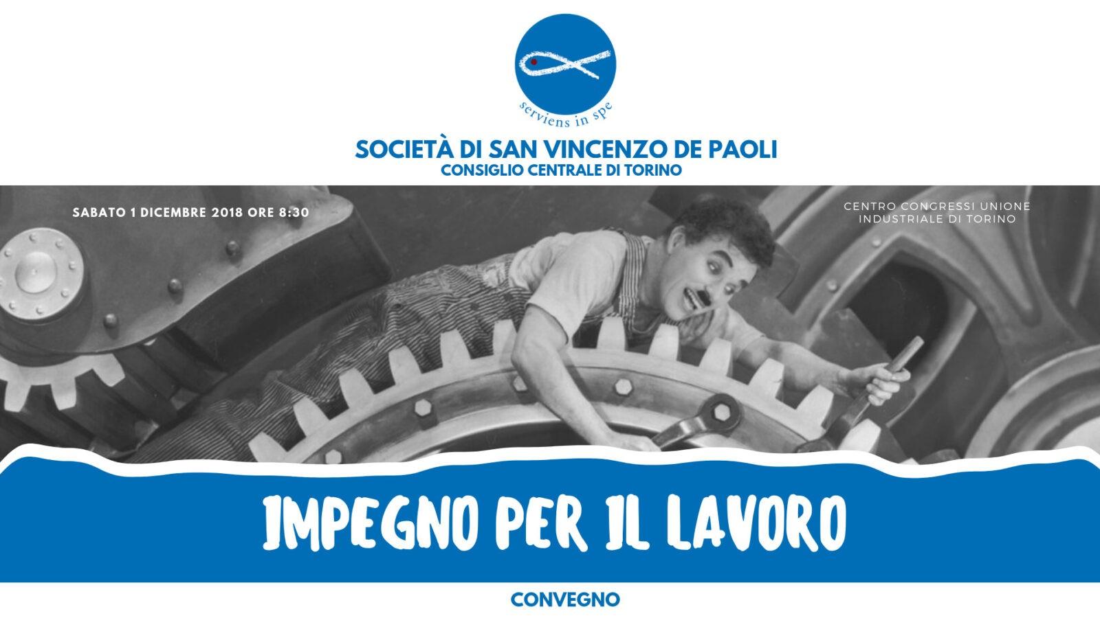 Convegno Sul Lavoro, Società di San Vincenzo De Paoli