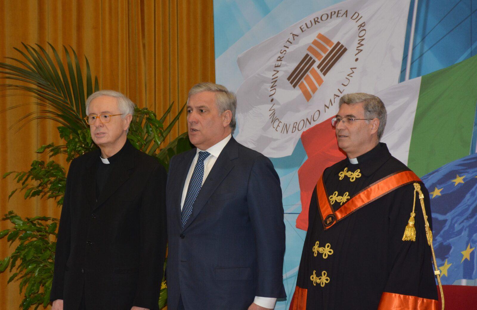 inaugurazione Anno Accademico Univeristà Europea di Roma