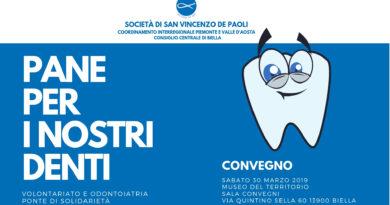Pane per i nostri denti - Società di San Vincenzo De Paoli - Regione Piemonte