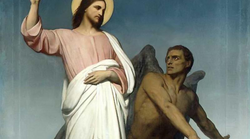 La tentazione di Cristo Ary Scheffer