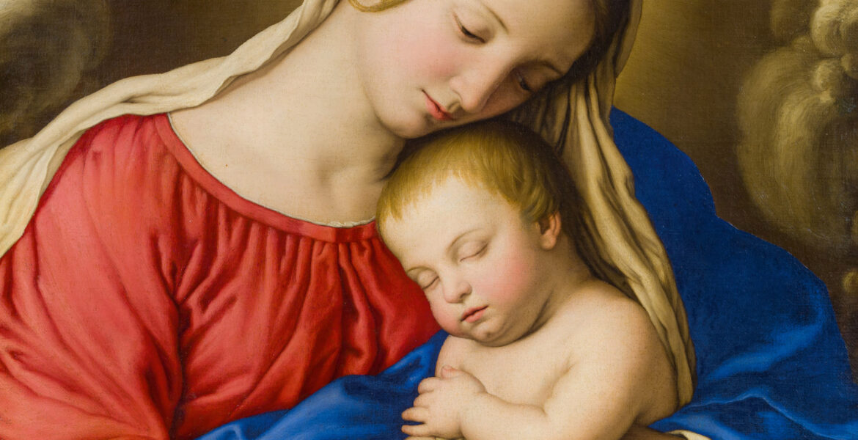 Madonna con Bambino ed angeli