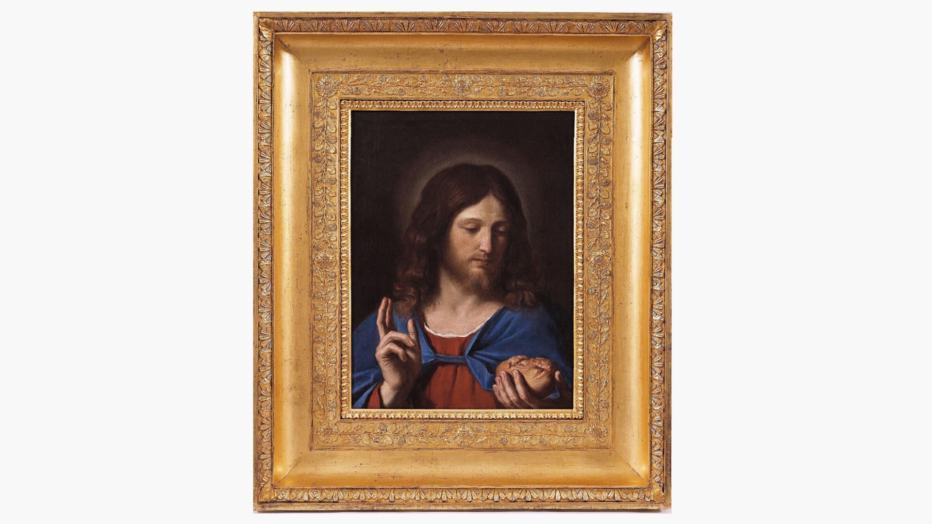 Carità - Cristo Benedicente. Guercino - Torino, Galleria Sabauda