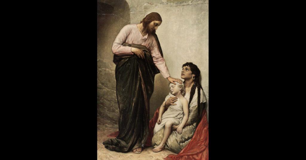 No, Dio non è (solo) un guaritore!