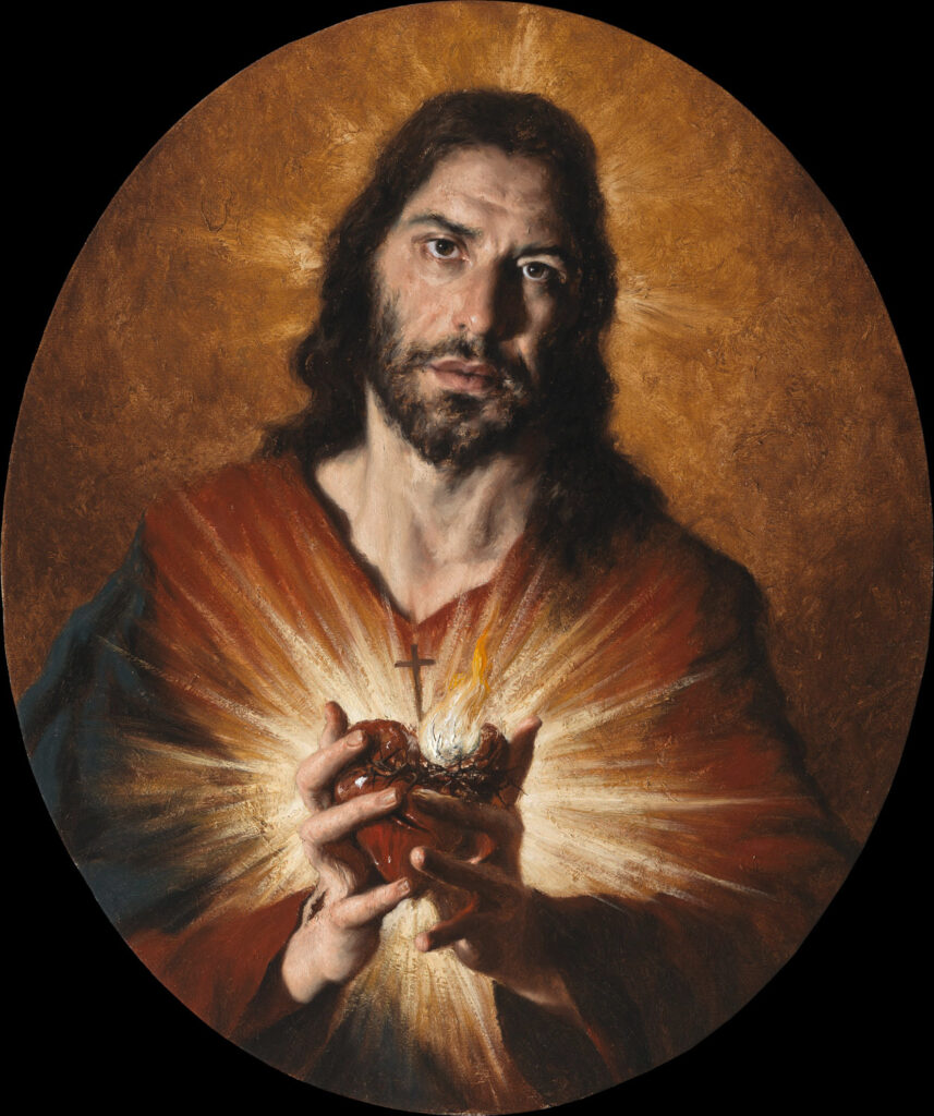 La luce di Gesù che brilla nel tuo cuore