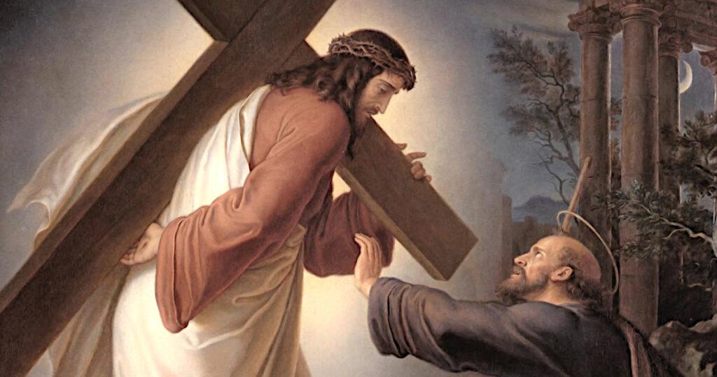 Quella croce che non si può proprio scansare…