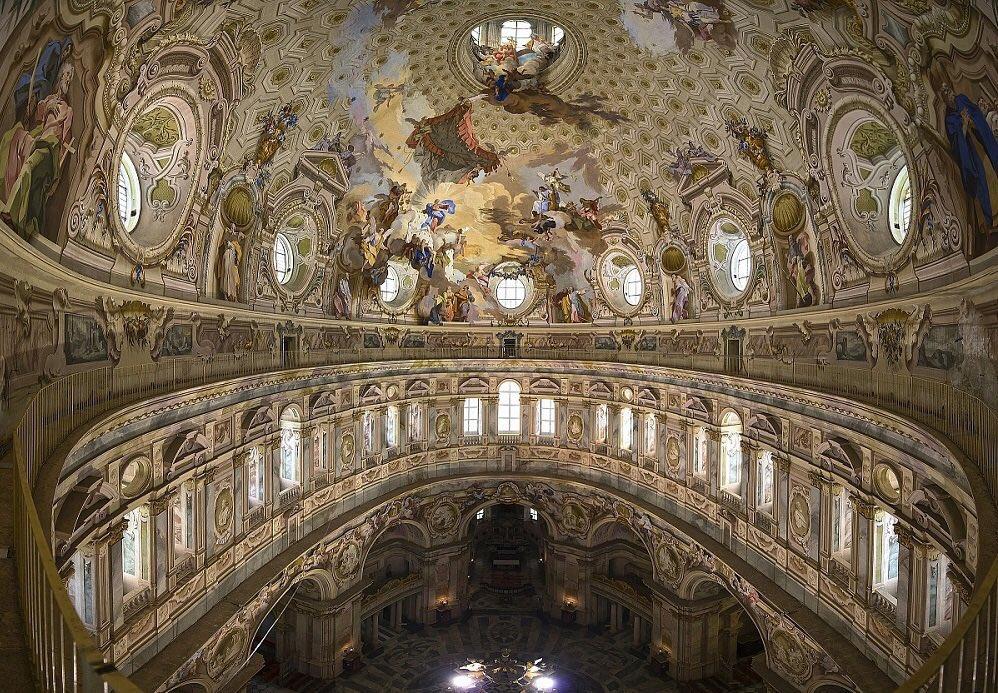 La cupola ellittica più grande del mondo, Santuario di Vicoforte di Mondovì
