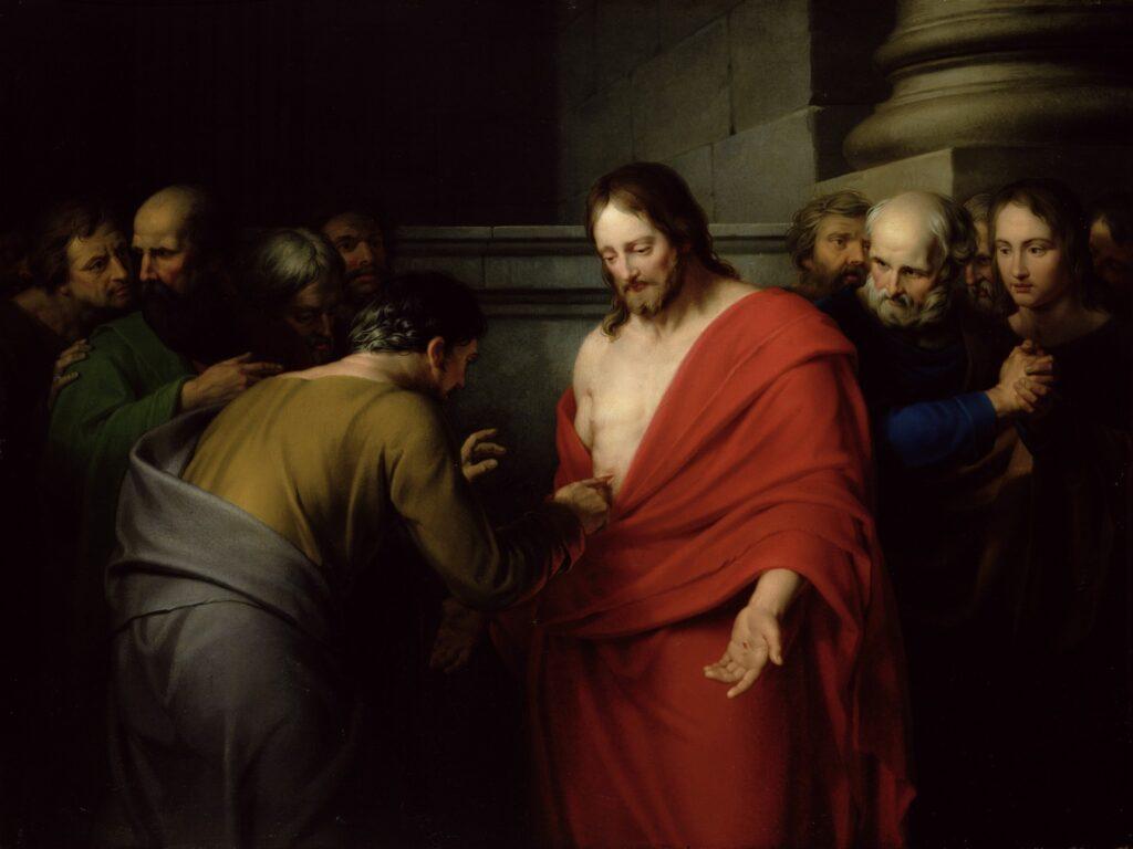 Toccare le piaghe di Gesù ci guarisce